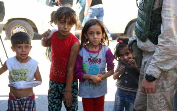 Важная миссия российских военных в Сирии: Конвой Минобороны прибыл в г. Хальдия (ФОТО) | Русская весна