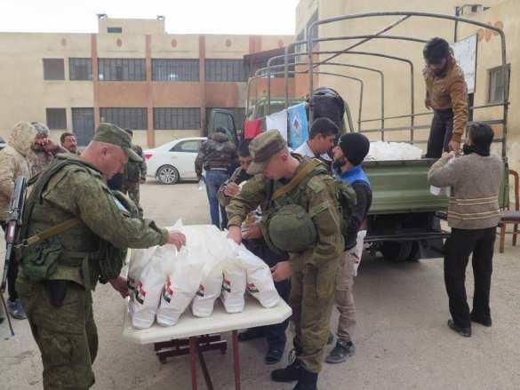 Российские военные вошли в освобождённый от «Аль-Каиды» горный район на границе с Ливаном (ФОТО)  | Русская весна