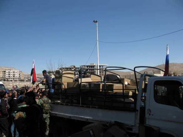 «Вежливые люди» под Дамаском: новая гуманитарная миссия российского спецназа, — эксклюзив «Русской Весны» (ФОТО) | Русская весна