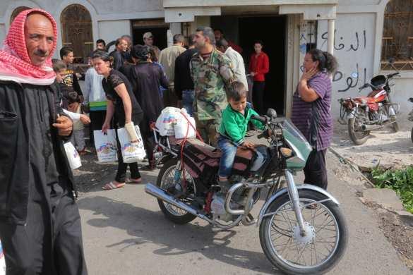 Один день в Сирии глазами российского военного — репортаж РВ (ФОТО) | Русская весна