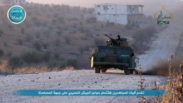 Наступление исламистов в Хаме: охота на танки и артиллерийские удары (ВИДЕО, ФОТО) | Русская весна
