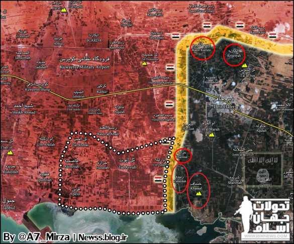ВКС России громят ИГИЛ, а «Тигры» прорываются к крепости банд в Алеппо (КАРТА) | Русская весна