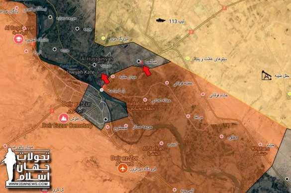 ИГИЛ в пасти «Тигра»: ВКС и САА завершают разгром террористов в Дейр эз-Зоре и во всей Сирии (КАРТА) | Русская весна