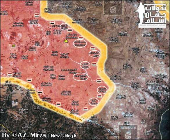 Крах ИГИЛ в Алеппо: «Тигры» и ВКС РФ обращают боевиков в бегство (ВИДЕО, КАРТА) | Русская весна