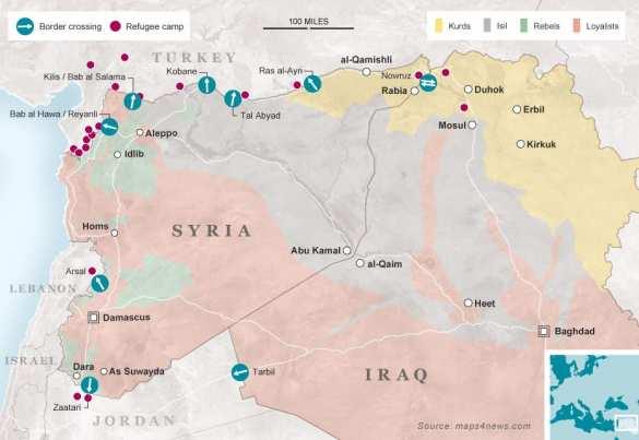 ВАЖНО: Турки убивают сирийских беженцев, спасающихся от ИГИЛ (ФОТО, ВИДЕО) | Русская весна