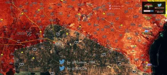 «Тигры» берут в клещи крепость ИГИЛ и при поддержке ВКС России освобождают новые территории (ФОТО, КАРТА) | Русская весна