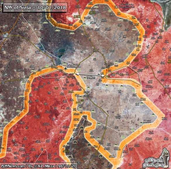 Боевики бегут, русские «Солнцепёки» сжигают «Аль-Каиду», освобождая базу ВВС Сирии в Идлибе (ФОТО, КАРТА) | Русская весна