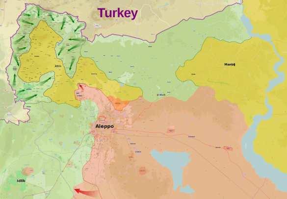 Турки приближаются к Африну, а сирийская гвардия занимает позиции награнице скурдским анклавом (ФОТО) | Русская весна