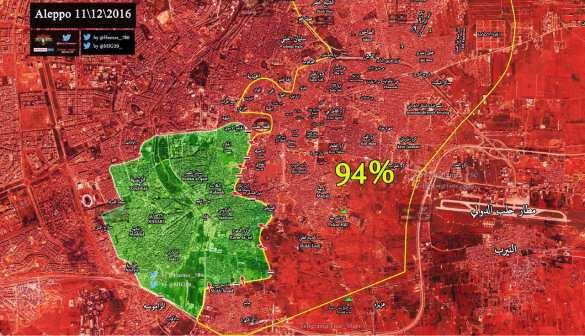 СРОЧНО: Алеппо возьмут за 48 часов, «Тигры» освобождают еще несколько районов (+ВИДЕО, КАРТА) | Русская весна