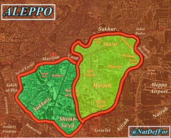 МОЛНИЯ: «Тигры» штурмуют Алеппо, взяты уже 6 районов, боевики отчаянно просят перемирия (+ВИДЕО, КАРТА) | Русская весна
