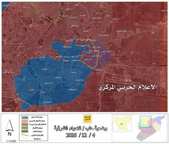 МОЛНИЯ: «Котел» разваливается, «Тигры» при поддержке ВКС РФ освобождают еще 3 района в Алеппо (ВИДЕО, ФОТО, КАРТА) | Русская весна