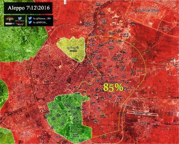 Кадры боев за Алеппо: «Тигры» зачистили 85% «котла», спецназ и танки прорывают оборону банд (ВИДЕО, КАРТА, ФОТО) | Русская весна