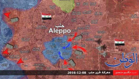 Агония боевиков в Алеппо: под ударами «Тигров» и Т-90 банды отступают на юг (ВИДЕО, ФОТО, КАРТА) | Русская весна