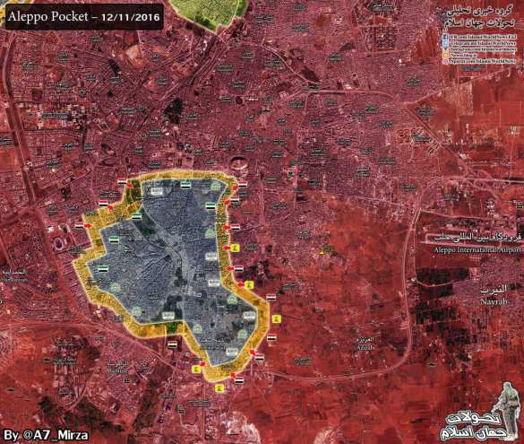 СРОЧНО: Алеппо возьмут за 48 часов, «Тигры» освобождают еще несколько районов (+ВИДЕО, КАРТА)   Русская весна