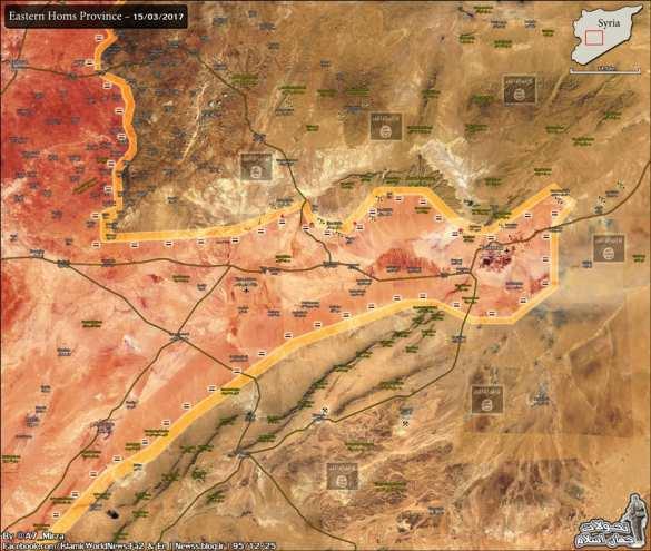 ИГИЛ массово отступает: Армия Сирии и ВКС РФ гонят боевиков в пустыню под Пальмирой (КАРТА) | Русская весна