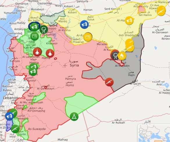Победа близка, Асад остаётся: Террористы и СШАтерпят поражение в Сирии (КАРТА) | Русская весна