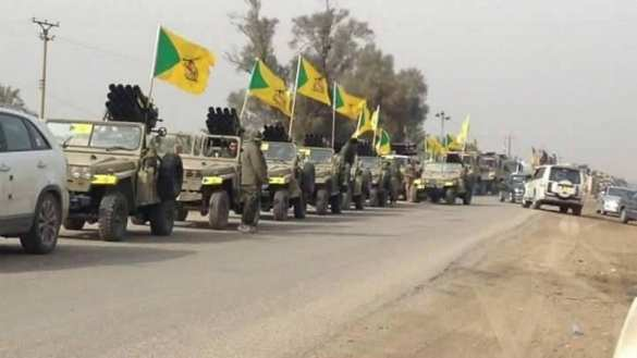 Шиитский спецназ «Катаиб Хезболла» движется киракской границе, чтобыостановить вторжение Саудовской Аравии (ВИДЕО)   Русская весна