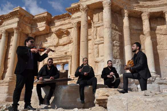 Пальмира: Воздушный парад ВКС РФ, смотр сил Армии Сирии и концерт (ВИДЕО, ФОТО) | Русская весна