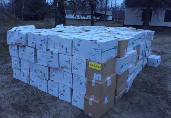 Полк МВД Украины «Киев» поймали наконтрабанде сигарет изДНР (ФОТО) | Русская весна