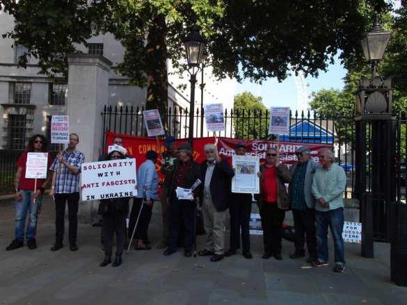 Лондон за Донбасс: В Британии протестуют против поставок оружия Украине (ФОТО) | Русская весна