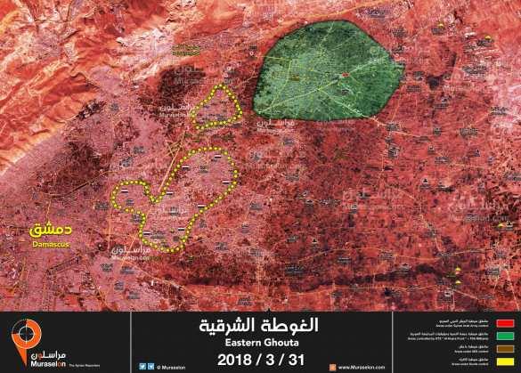 Заявление командования Армии Сирии в связи с победой в Восточной Гуте (КАРТА)  | Русская весна