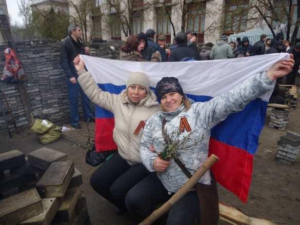 Ополченка, жена ополченца: «Пока мыостаёмся русскими, насневозможно победить…» (ФОТО) | Русская весна