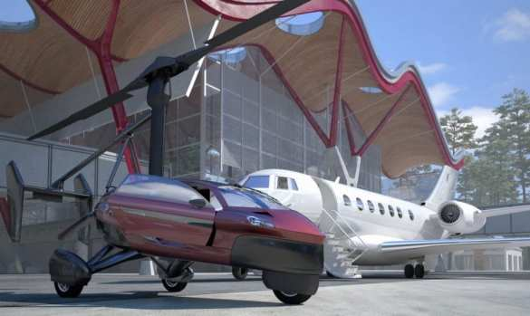 На рынок выходит первый летающий автомобиль (+ВИДЕО, ФОТО) | Русская весна