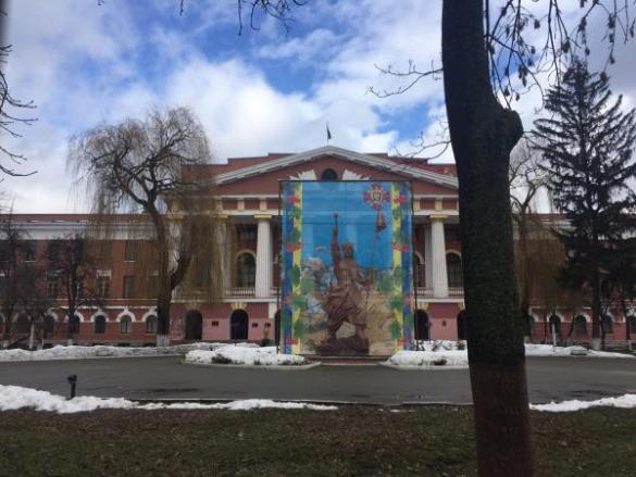В киевском военном лицее хотят демонтировать памятник Суворову (ФОТО) | Русская весна
