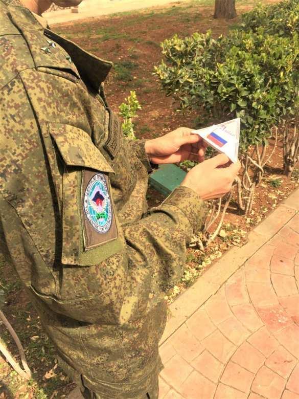Трогательные кадры: Сражайтесь за правду! — нашим военным в Сирию пришли письма от детейРоссии (ФОТО) | Русская весна
