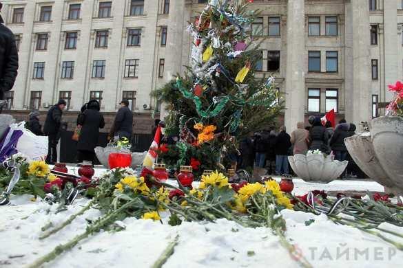 На Куликовом поле помянули погибших 2 мая (ФОТО) | Русская весна