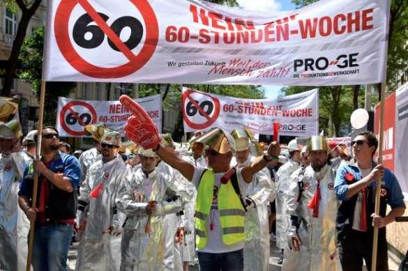 80 тыс. австрийцев вышли на улицы, протестуя против 12-часового рабочего дня (ФОТО, ВИДЕО) | Русская весна