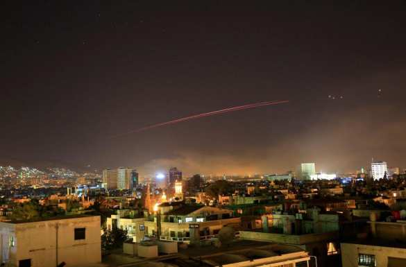 Пентагон: Нападение Коалиции США на Сирию завершено. ПВО сбили не менее 13 ракет, — подробности агрессии (+ФОТО) | Русская весна