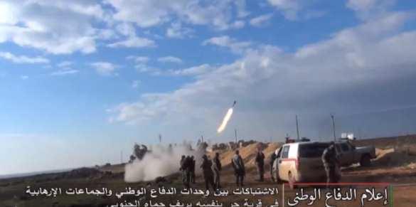 Танковые удары и ракетные атаки: сирийские ополченцы наступают на террористов в Хаме (ВИДЕО, ФОТО) | Русская весна