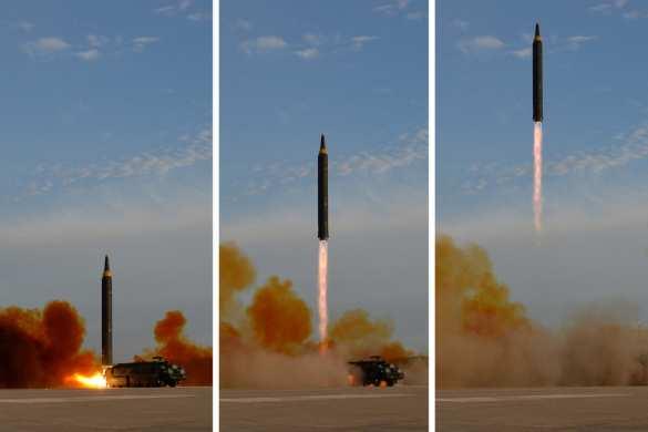 В Сети появились снимки последнего ракетного пуска КНДР (ФОТО) | Русская весна