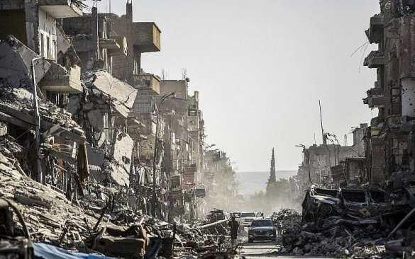 Победа ценой полного разрушения: Минобороны сравнило удары коалиции США по Ракке с бомбардировкой Дрездена в 1945 году (ФОТО, ВИДЕО) | Русская весна