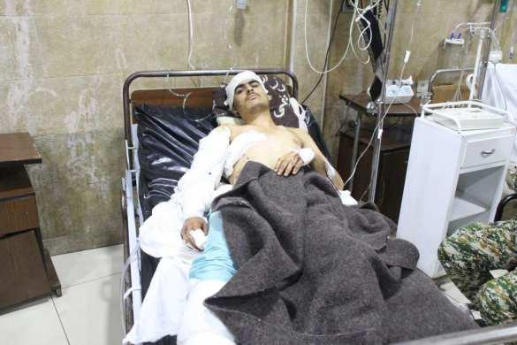 Сирия: Военный рассказал, как выжил под ударом американской ракеты (ФОТО, ВИДЕО) | Русская весна