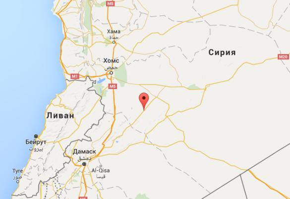 Сирийская армия готовится к штурму города Аль-Карьятейн вХомсе (КАРТА)   Русская весна