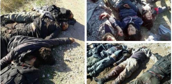 Кровавая жатва под Дамаском: командиры террористов становятся жертвами разборок между группировками (ФОТО +18)   Русская весна