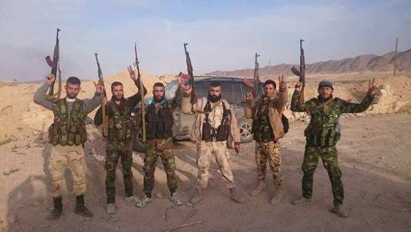 ВАЖНО: при поддержке ВКС РФ спецназ «Тигры», морпехи и «Хезболла» штурмуют Пальмиру (ФОТО+СХЕМА) | Русская весна