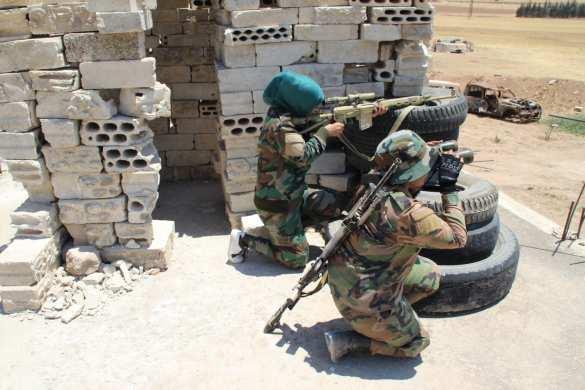 Плохие новости для ИГИЛ: Сирийские вдовы-снайперы начинают охоту на террористов — репортаж РВ (ФОТО) | Русская весна