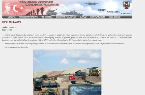 Минобороны Турции заявило, что занимает позиции в Сирии по соглашению с РФ   | Русская весна