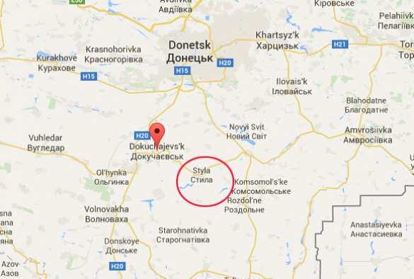 Штаб АТО нашел в Докучаевске спецназовцев из России (КАРТА)   Русская весна