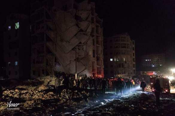 МОЛНИЯ: Мощным взрывом в Идлибе уничтожен штаб боевиков с Кавказа, 100 убитых и раненых (+ВИДЕО, ФОТО) | Русская весна