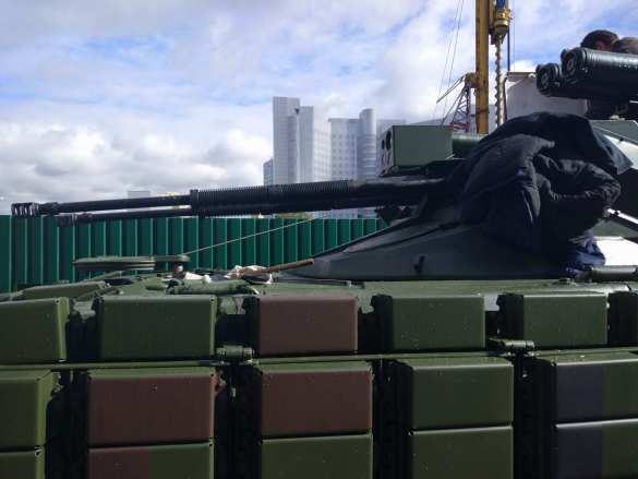 Слепили из того, что было: на Украине смастерили свой «Терминатор» (ФОТО) | Русская весна