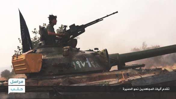 Танки, БМП и 1000 террористов наступают в Алеппо (ФОТО) | Русская весна