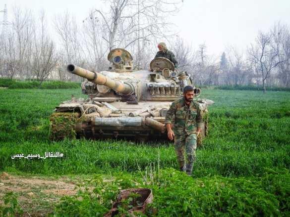 Банды Дамаска в опасности: «Тигры» разрезают котёл в Аль-Гуте на 3 части (ФОТО, КАРТА) | Русская весна