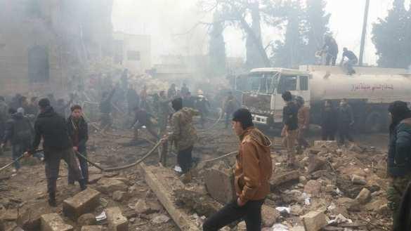 Страшный теракт на севере Алеппо: около 100 человек убиты и ранены (ФОТО, ВИДЕО) | Русская весна