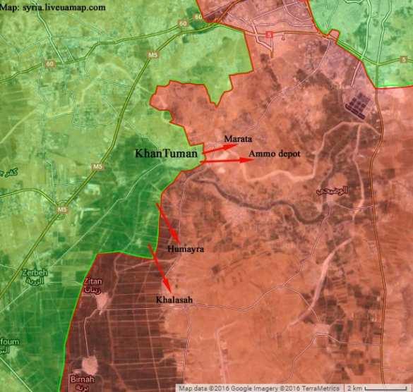 СРОЧНО: идут бои, боевики пошли в наступление, стремясь блокировать Алеппо (ФОТО, КАРТА) | Русская весна