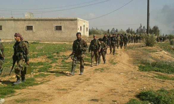 ВАЖНО: Спецназ «Тигры» подавляет ИГИЛ, продвигаясь внутри Ханассер и захватывая возвышенности у «дороги жизни» в Алеппо (ФОТО) | Русская весна