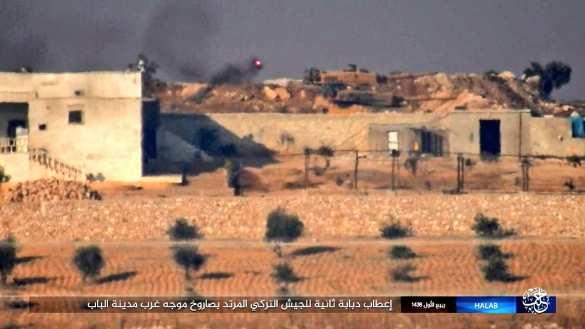 Российской ракетой ИГИЛ подбили немецкий танк «Леопард-2» ВС Турции в Алеппо (ФОТО) | Русская весна